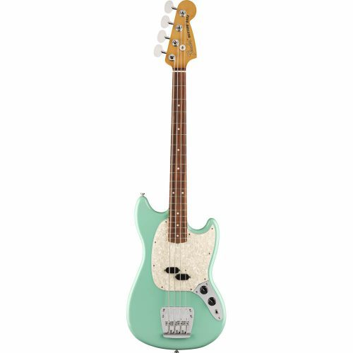 FENDER VINTERA '60 MUSTANG BASS PF SFMG SEA FOAM GREEN